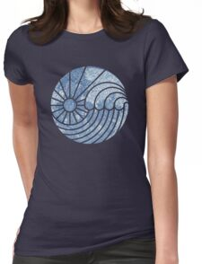 Sea of Serenity Womens Fitted T-Shirt