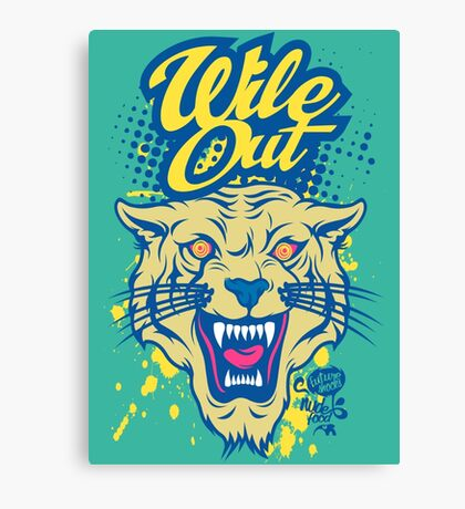 Wile Out Canvas Print