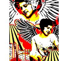 Vexed Angel Photographic Print