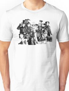 The Many Faces of.... Unisex T-Shirt