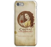 Coffee Propaganda iPhone Case/Skin