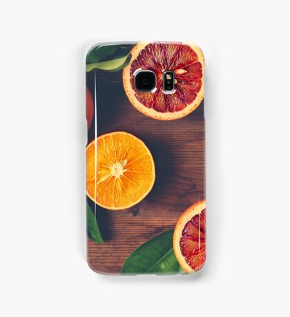 Still Life with Ripe Juicy Citrus Fruits Samsung Galaxy Case/Skin