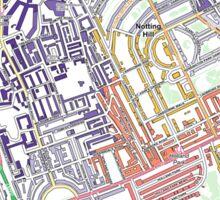 Multiple Deprivation Norland ward, Kensington & Chelsea Sticker
