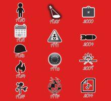 U2 discography icons Kids Tee
