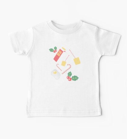 Marvellous EGG NOG knitted pattern Baby Tee