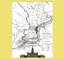 Philadelphia - Pennsylvania - United States - 1777 One Piece - Short Sleeve