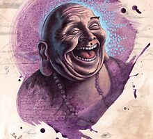 Laughing Buddha Release by brendonart