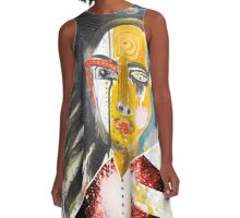 yellow bruxa A-Line Dress