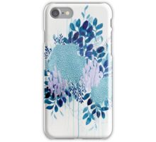 Floral Study One iPhone Case/Skin