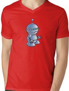 Robot! Mens V-Neck T-Shirt