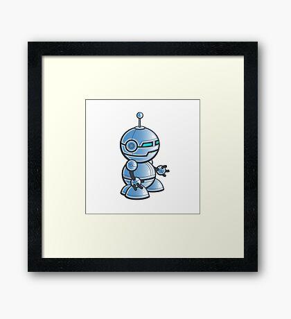 Robot! Framed Print