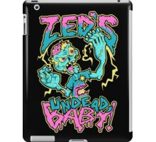 Undead Zed iPad Case/Skin
