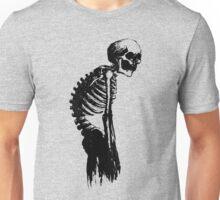 Mr Skeleton Slump Unisex T-Shirt