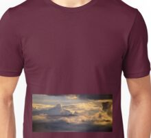 Microlight into the clouds Unisex T-Shirt