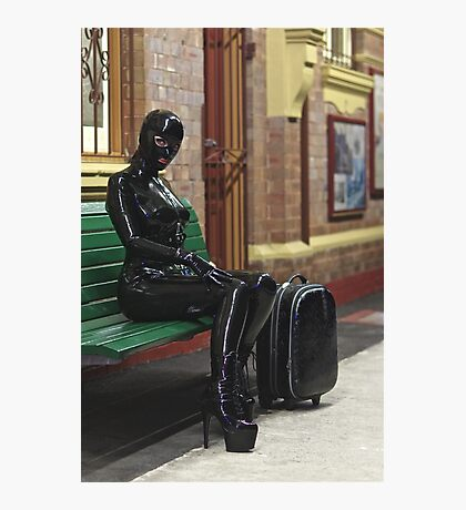 Rubber Holiday Photographic Print