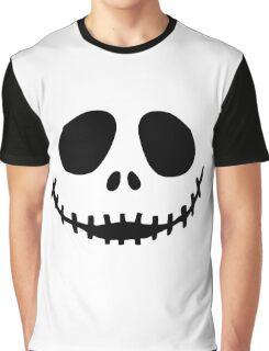Jack Skellington  face Graphic T-Shirt