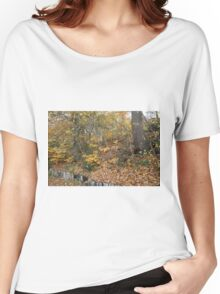 Autumn Colours in the sunshine before the storm Angus predicted tomorrow  Women's Relaxed Fit T-Shirt