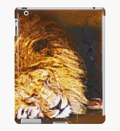 Let Sleeping Lions Lie iPad Case/Skin