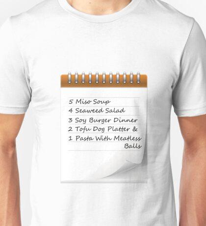 Rent Dinner Order Unisex T-Shirt