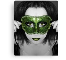 A mask I've worn but the truth will be told Canvas Print