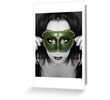 A mask I've worn but the truth will be told Greeting Card