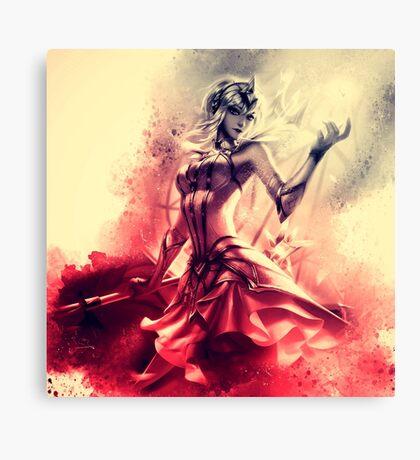 Elementalist Lux Magma Canvas Print