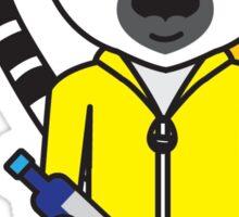 Leroy the Lab Assistant Lemur Sticker