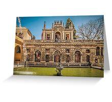 Galeria del Grutesco Greeting Card