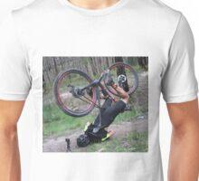 Mountain bike face plant Unisex T-Shirt