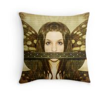 Mute witness Throw Pillow