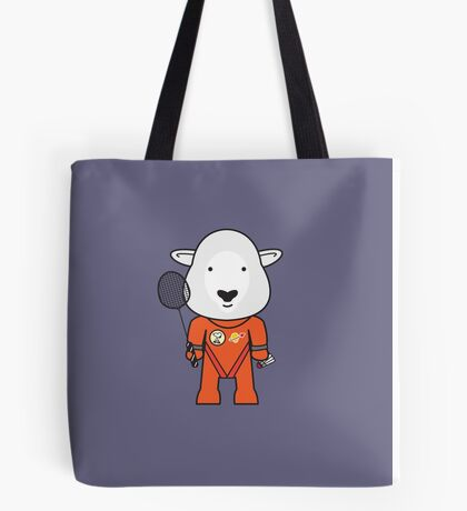 Sandra the Shuttle Commander Sheep Tote Bag