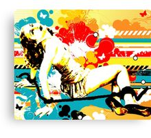 Vixen Subdued Canvas Print