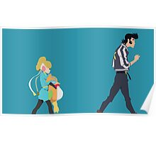 A Dandy Guy and Girl Poster
