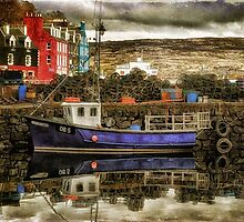 Tobermory Isle Of Mull by Lois  Bryan