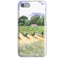 Roadside Vineyard iPhone Case/Skin