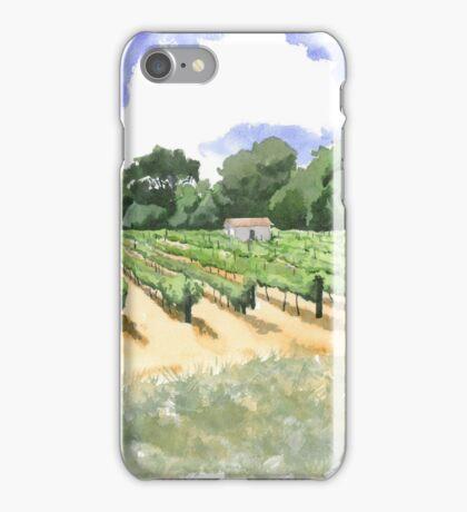 Roadside Vineyard iPhone Case/Skin