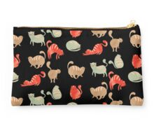9 Cute Cats / Hand Drawn Kittens Studio Pouch