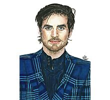 Colin O'Donoghue art Photographic Print