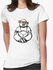 Trill Buddha Womens Fitted T-Shirt