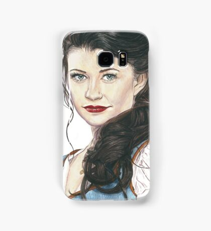 Belle French - OUAT art Samsung Galaxy Case/Skin