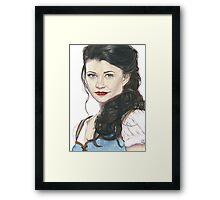 Belle French - OUAT art Framed Print