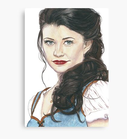 Belle French - OUAT art Canvas Print