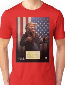 PRESIDENT TRUMP Cthulhu 2016 Official Portrait Unisex T-Shirt