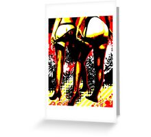 Derriere Greeting Card