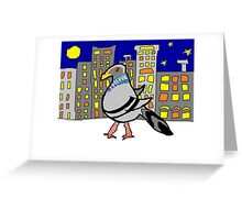 Jenny Quips:  Night Walker Greeting Card