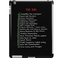 My busy 'To Do' List iPad Case/Skin