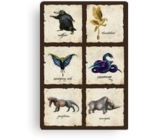 Awesome Creaturess Canvas Print