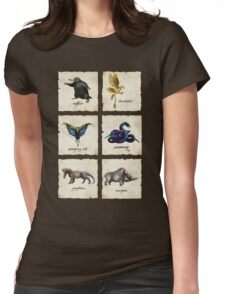 Awesome Creaturess Womens Fitted T-Shirt