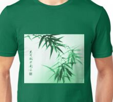 Green Bamboo Twig Unisex T-Shirt