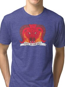 The Red Bull (The Last Unicorn) Tri-blend T-Shirt